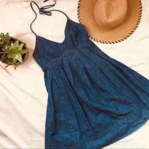 •Vintage Lucky Brand Denim Dress•